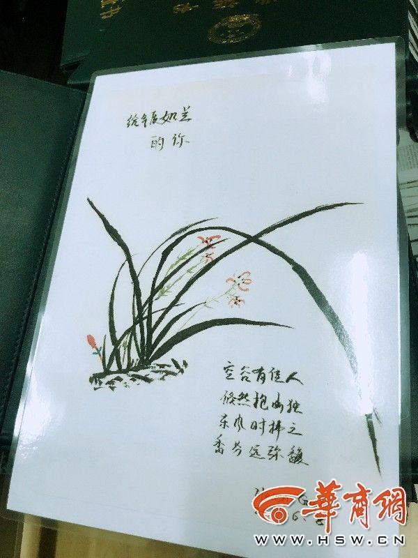 老师手绘明信片赠134名毕业生