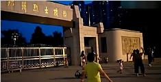 坟头蹦迪?郑州大妈烈士陵园旁边跳广场舞