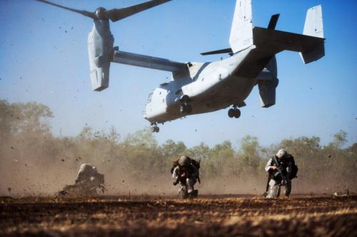 英媒:模拟对华军演 澳大利亚安全政策南辕北辙