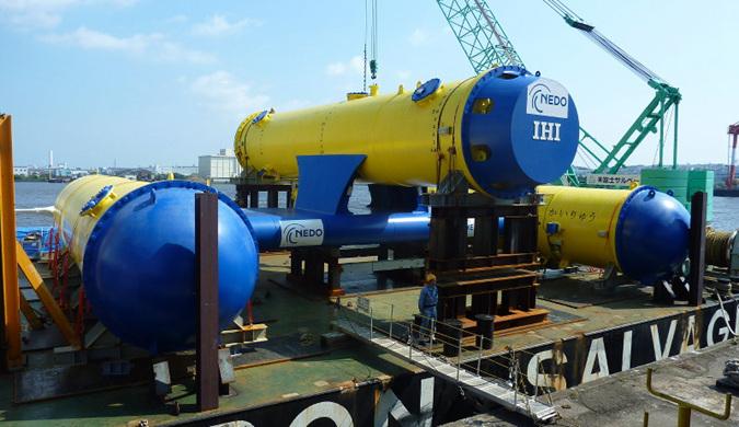 日本将验证实用化潮汐发电 成本过高成最大难点