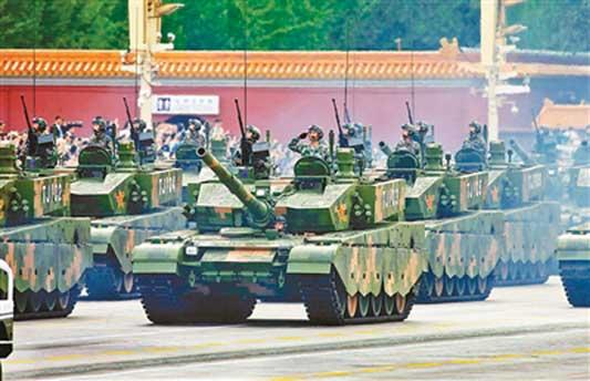 美媒:全球最强军队美俄中稳居前三 印度排第四