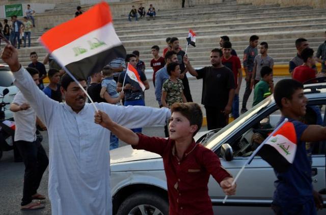 打击IS历史性胜利!摩苏尔沦陷3年后全城解放