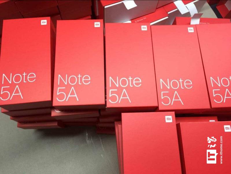 红米Note 5A包装照曝光 搭载骁龙630与双摄像头