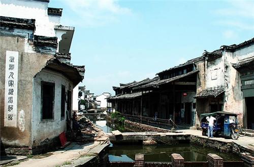 世界文化遗产地——黟县西递村