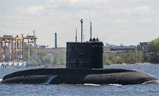 阿尔及利亚新潜艇即将交付