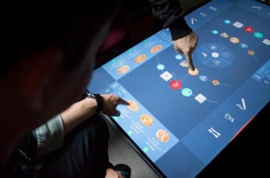 全触控概念咖啡桌 游戏娱乐商务都没问题