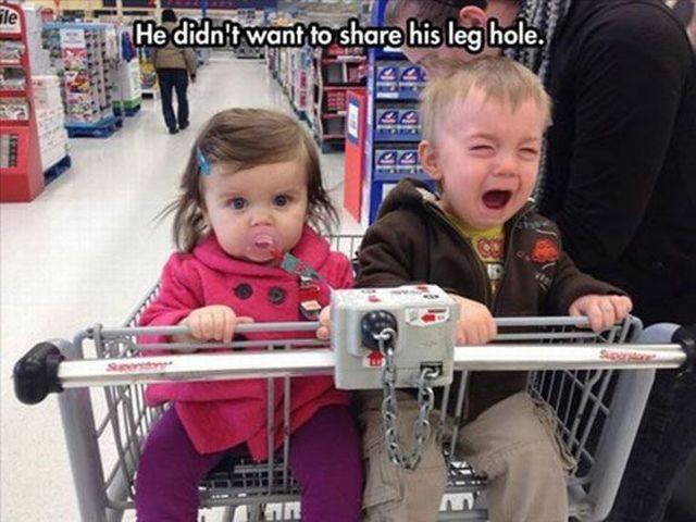 宝宝要闹小情绪了图片