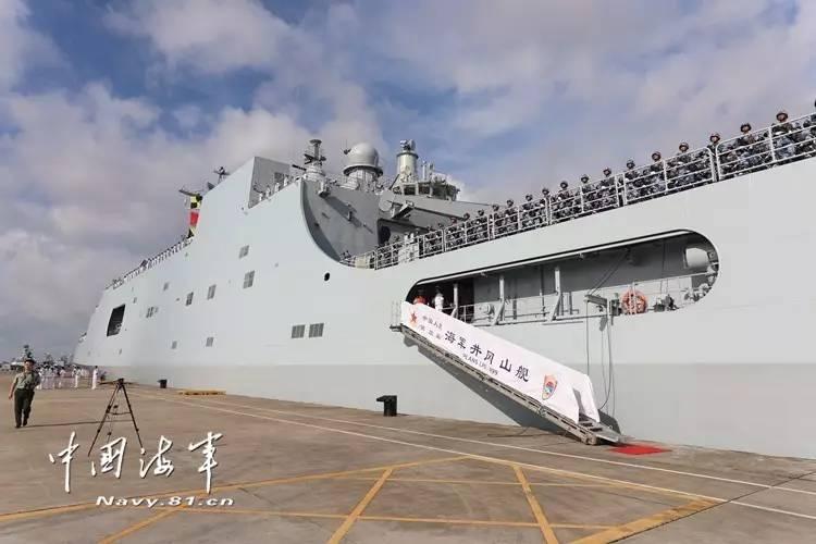 吉布提基地支持中国海军走得更远 但也别夸张它