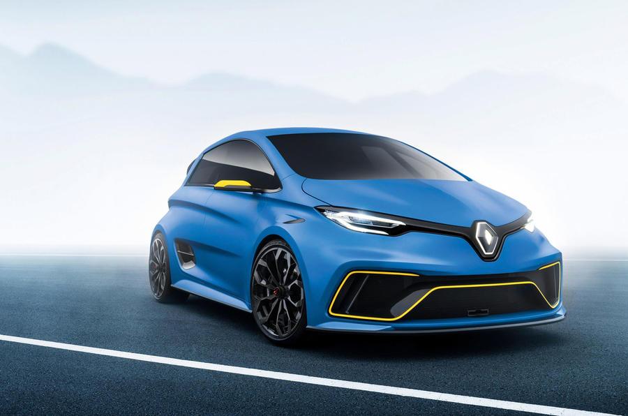 雷诺酝酿Zoe RS高性能电动车 或2020年前上市