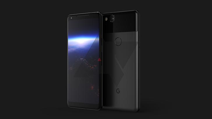 谷歌Pixel 2 XL曝光:全面屏+Android 8.0