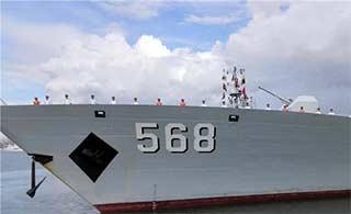 海军第二十五批护航编队凯旋