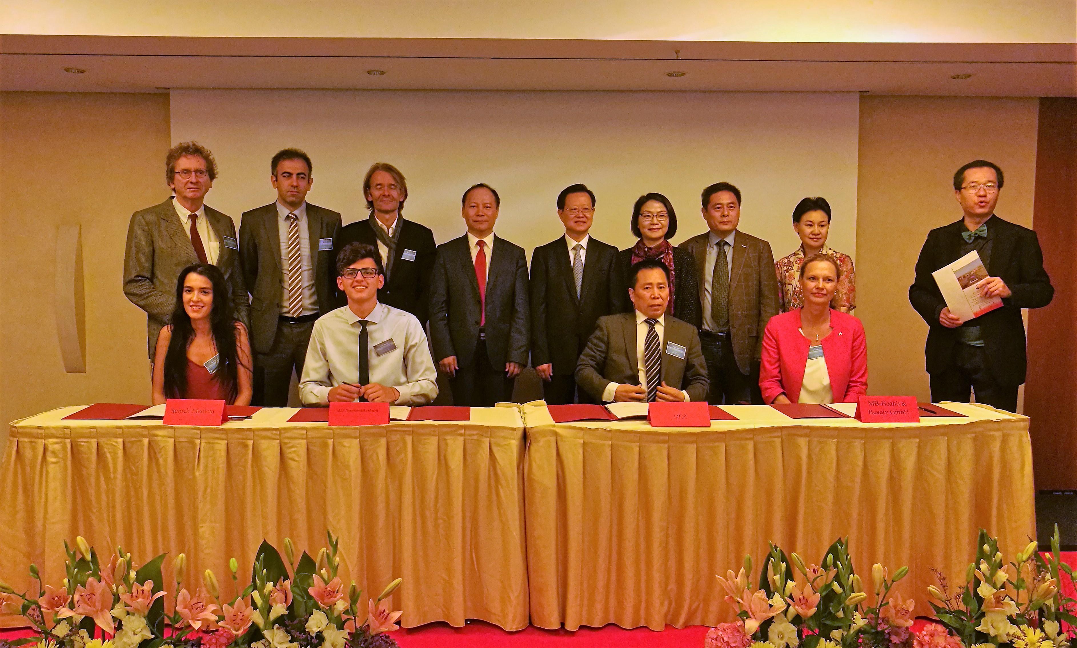 德国政府首次组织中小企业将抱团入驻中国杭州、太原、淮安《德欧中心》