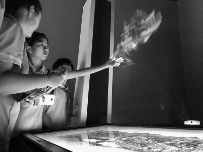 首家三山五园主题数字馆开馆 虚拟历史景点