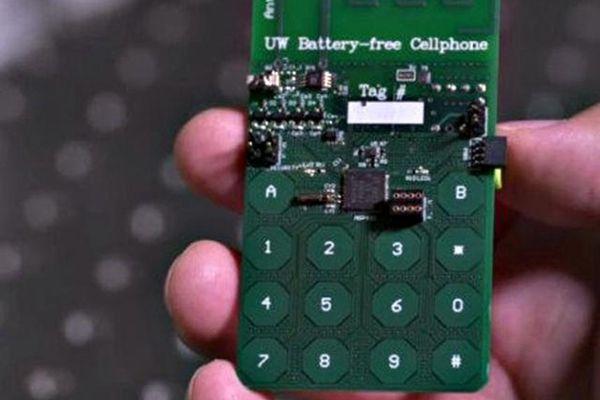 可以续航一辈子?全球首款无电池手机诞生
