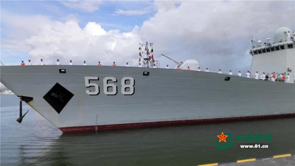 中国海军第二十五批护航编队完成任务返回湛江