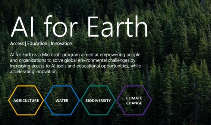 """微软全新""""地球计划"""":低成本AI解决最大环境问题"""