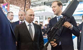 普京对反无人机武器很感兴趣