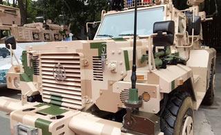 这个军车展聚集了国内顶级战术装甲车辆