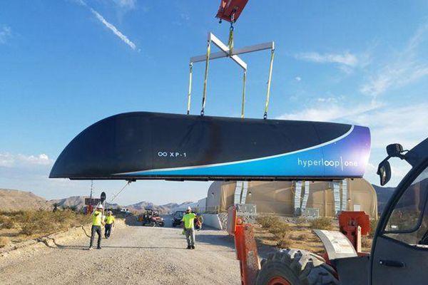 超级高铁首次测试时速113公里 未来或超1200公里