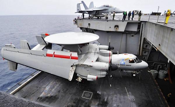 美媒猜测中国未来航母预警机:目前落后美国很多