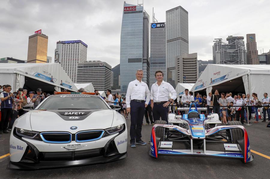 宝马将参加Formula E电动方程式赛车 与奥迪竞争