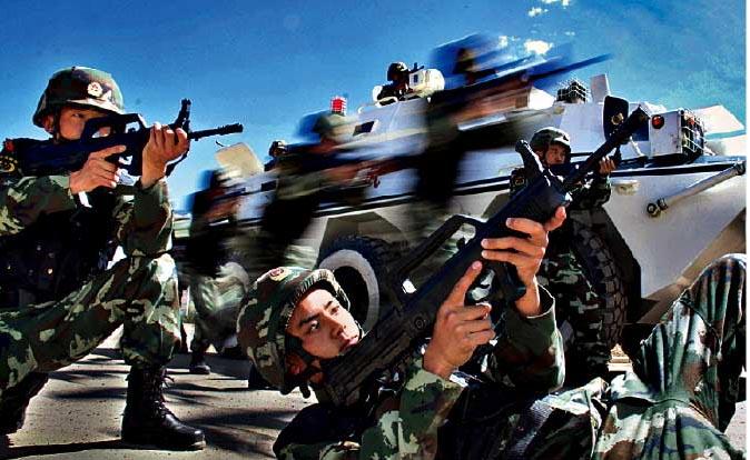 新疆这支部队让暴恐分子闻风丧胆