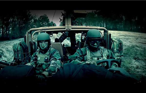 法国特种部队征兵宣传片酷似好莱坞大片