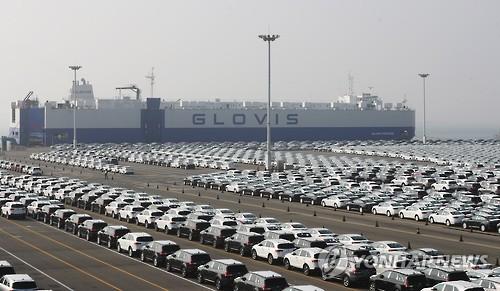 韩国上半年汽车出口总值三年来首次增长