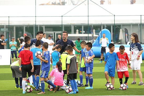 非凡训练营落地北京 西甲俱乐部掀青少足球热潮