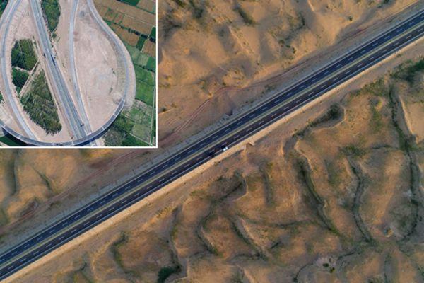 北京到新疆全线高速公路贯通