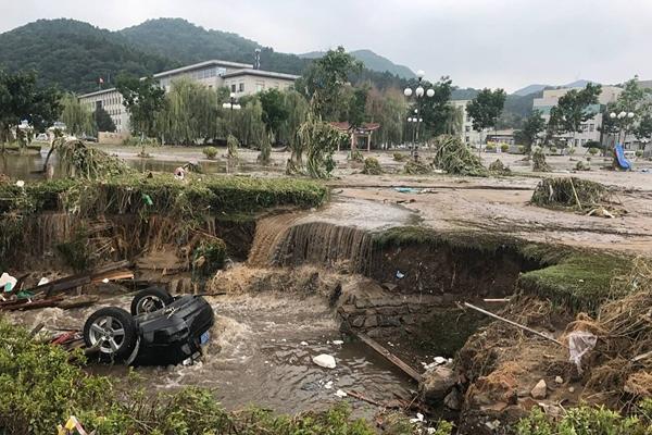 吉林特大洪水过后景象 26万人受灾
