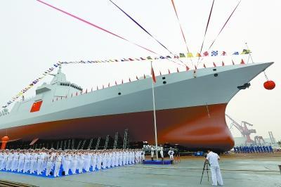 中国万吨大驱霸气下水:世界驱逐舰百年修炼手册