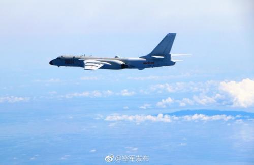 中国战机飞越宫古海峡 军方:不针对特定国家