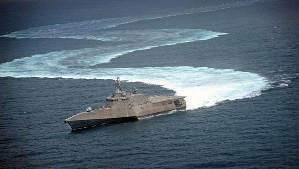 美媒直言濒海舰项目失败:没法跟中国护卫舰对抗