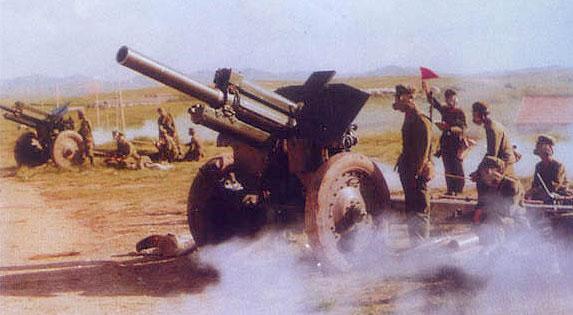 我军装备的第一种大口径火炮:54式122榴弹炮