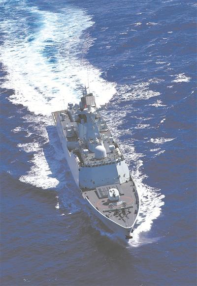 常州舰入列6年开创海军多个第一 被誉为王牌战舰