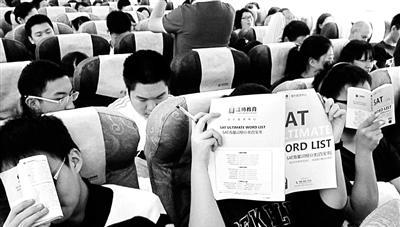 洋高考催火高中生跨境赶考团:人均出境三次