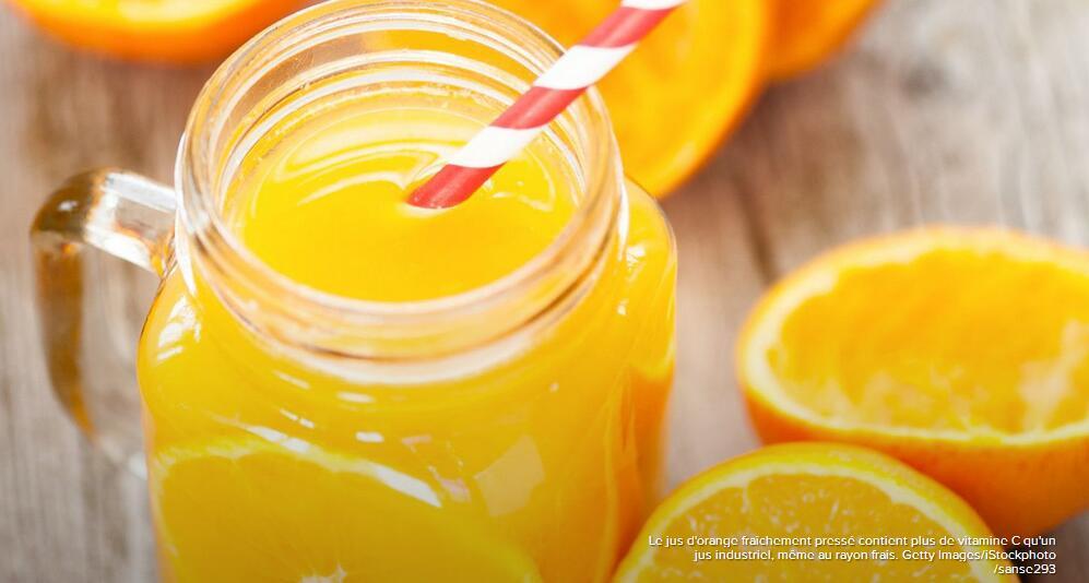 橙汁可无限畅饮?法媒解析有关橙汁的误区