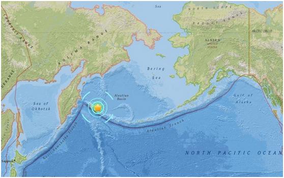 北太平洋_快讯:北太平洋发生7.4级地震 或有海啸发生_国际新闻_环球网