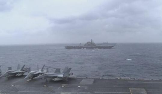 美日印公开印度洋军演秀肌肉 日媒称为牵制中国