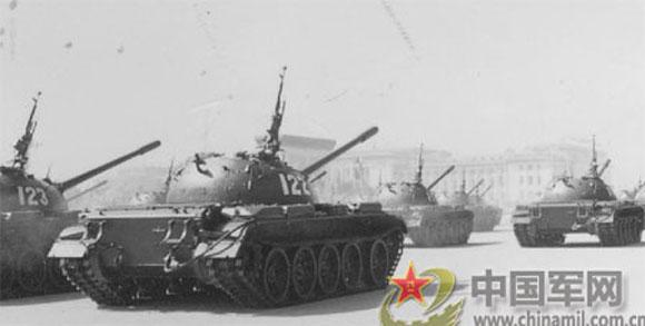 59式坦克:一夜之间有了和西方相同的主战坦克