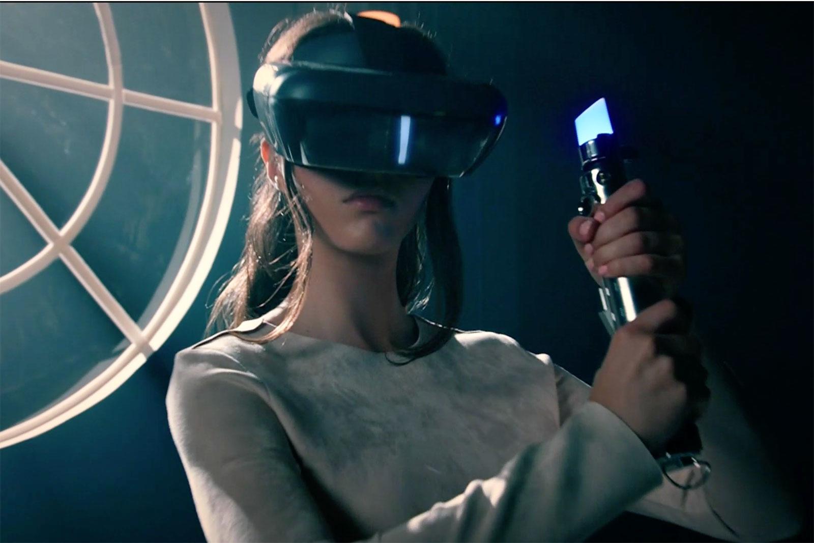 联想为《星球大战》游戏制造AR头盔