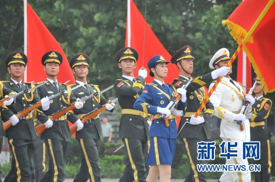 解放军陆海空三军仪仗队—行走的中国军队宣传片