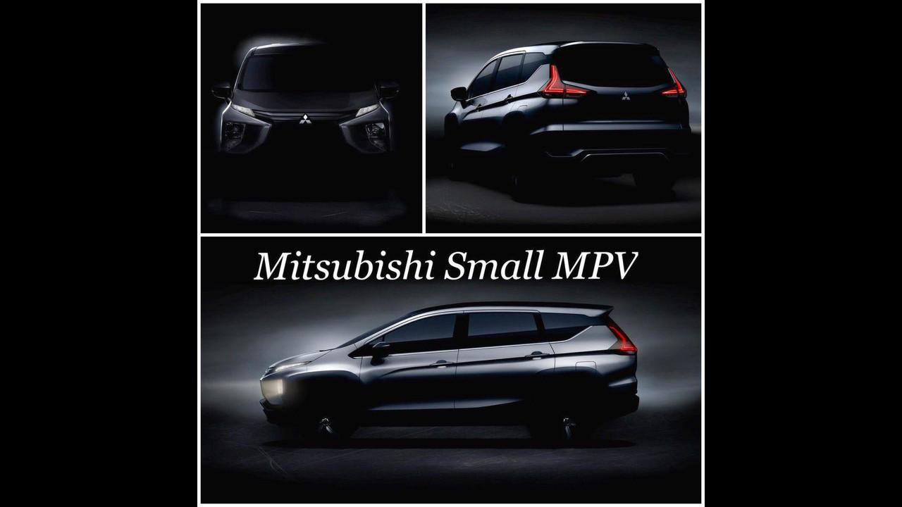 三菱XM MPV量产版预告图首发8月10日揭晓