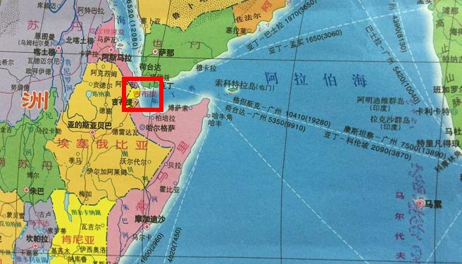 """中国海军首个保障基地""""落子""""吉布提"""
