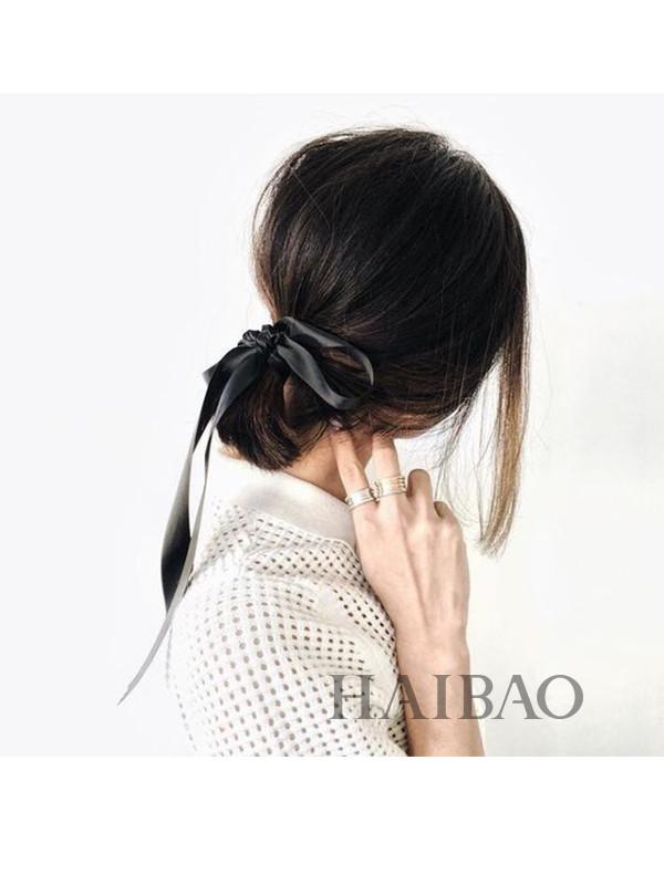 8张Gif动图教会你名媛编发!别人的发带高级又时髦,怎么你的发带饰品就像村口小芳?原