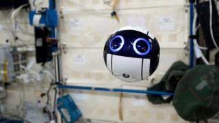"""日本""""太空球""""从国际空间站发回首批照片"""