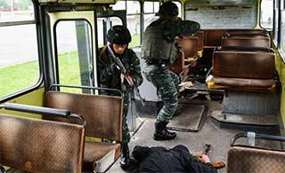 中国和白俄罗斯反恐演练圆满结束
