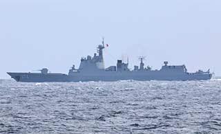 北约发推特欢迎中国舰队经过北海