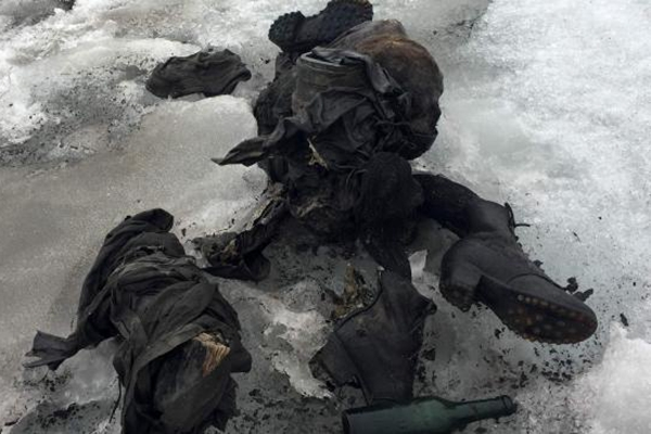 瑞士夫妇二战时失踪 原来遭冰川冰封75年
